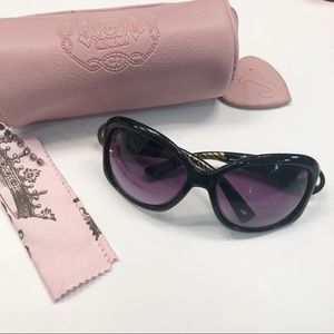 Juicy Couture black peace sunglasss